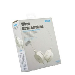 Наушники Remax RM-910 накладные Wired Music Earphone Белые