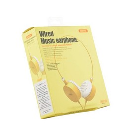 Наушники Remax RM-910 накладные Wired Music Earphone Желтые