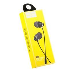 Наушники Hoco M28 Ariose Universal Earphones with mic (1.2 м) с микрофоном Black Черные
