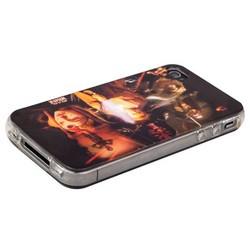 Чехол-накладка UV-print для iPhone 4S/ 4 силикон (кино и мультики) тип 01