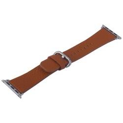 Ремешок кожаный COTEetCI W22 Band for Premier (WH5232-KR) для Apple Watch 40мм/ 38мм (классическая пряжка) Коричневый