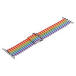 Ремешок COTEetCI W30 Nylon Rainbow Band (WH5251-RB-42) для Apple Watch 44мм/ 42мм Rainbow Color Радужный