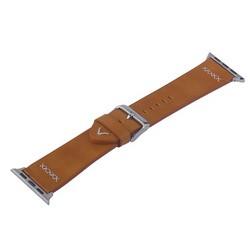 Ремешок кожаный COTEetCI W33 Fashion LEATHER классическая пряжка (WH5256-KR-38) для Apple Watch 40мм/ 38мм Коричневый