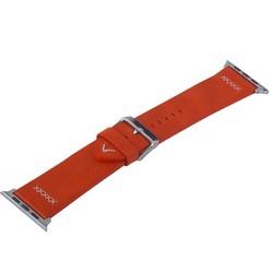 Ремешок кожаный COTEetCI W33 Fashion LEATHER классическая пряжка (WH5257-RD-42) для Apple Watch 44мм/ 42мм Красный