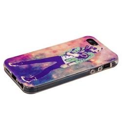 Чехол-накладка UV-print для iPhone SE/ 5S/ 5 силикон (арт) тип 45