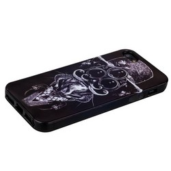 Чехол-накладка UV-print для iPhone SE/ 5S/ 5 силикон (арт) тип 103