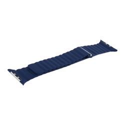 Ремешок кожаный COTEetCI W7 Leather Magnet Band (WH5206-DB) для Apple Watch 44мм/ 42мм Синий