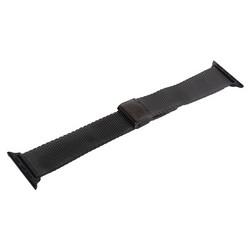Ремешок - сетчатый браслет Миланский COTEetCI W23 (WH5236-BK) для Apple Watch 44мм/ 42мм Черный