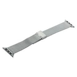Ремешок - сетчатый браслет Миланский COTEetCI W23 (WH5236-SS) для Apple Watch 44мм/ 42мм Серебристый