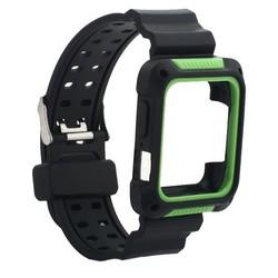 Ремешок COTEetCI W39 Integrated Movement Band (WH5267-BG) для Apple Watch 40мм/ 38мм 42мм Черно-Зеленый