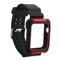 Ремешок COTEetCI W39 Integrated Movement Band (WH5268-BR) для Apple Watch 44мм/ 42мм Черно-Красный