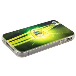 Чехол-накладка UV-print для iPhone 4S/ 4 силикон (футбол) тип 05