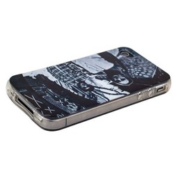 Чехол-накладка UV-print для iPhone 4S/ 4 силикон (кино и мультики) тип 06
