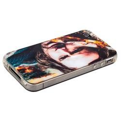 Чехол-накладка UV-print для iPhone 4S/ 4 силикон (кино и мультики) тип 11