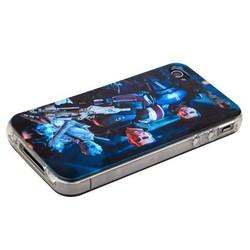 Чехол-накладка UV-print для iPhone 4S/ 4 силикон (кино и мультики) тип 15