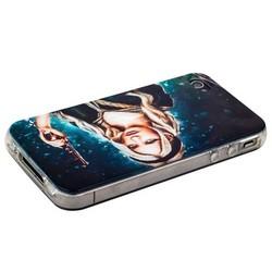 Чехол-накладка UV-print для iPhone 4S/ 4 силикон (кино и мультики) тип 16