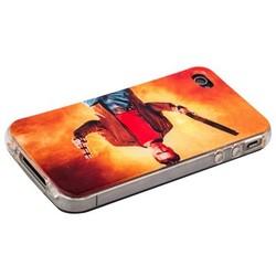 Чехол-накладка UV-print для iPhone 4S/ 4 силикон (кино и мультики) тип 23