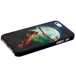 Чехол-накладка UV-print для iPhone SE/ 5S/ 5 пластик (животные) тип 001