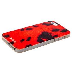 Чехол-накладка UV-print для iPhone SE/ 5S/ 5 силикон (шкурки животных) тип 59