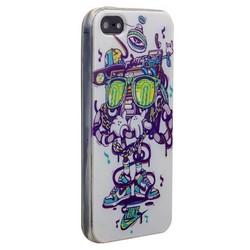 Чехол-накладка UV-print для iPhone SE/ 5S/ 5 силикон (арт) тип 039