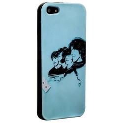 Чехол-накладка UV-print для iPhone SE/ 5S/ 5 силикон (кино и мультики) тип 005