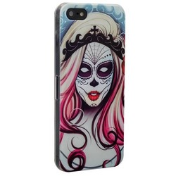 Чехол-накладка UV-print для iPhone SE/ 5S/ 5 пластик (арт) тип 006