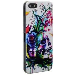 Чехол-накладка UV-print для iPhone SE/ 5S/ 5 пластик (арт) тип 009