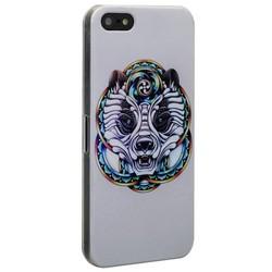 Чехол-накладка UV-print для iPhone SE/ 5S/ 5 пластик (арт) тип 013