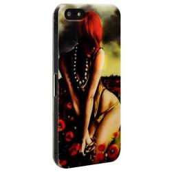 Чехол-накладка UV-print для iPhone SE/ 5S/ 5 пластик (18+) тип 007