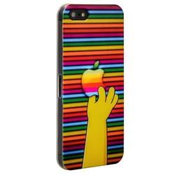 Чехол-накладка UV-print для iPhone SE/ 5S/ 5 пластик (бренды) тип 83