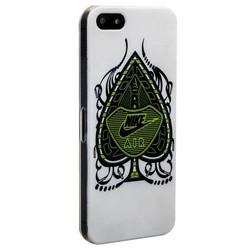 Чехол-накладка UV-print для iPhone SE/ 5S/ 5 пластик (бренды) тип 001
