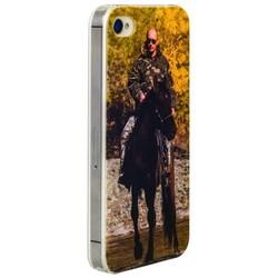 Чехол-накладка UV-print для iPhone 4S/ 4 силикон (тренд) Владимир Путин тип 005