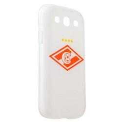 Чехол-накладка UV-print для Samsung GALAXY S3 GT-I9300 силикон (спорт) ФК Спартак тип 3
