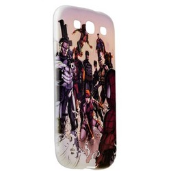 Чехол-накладка UV-print для Samsung GALAXY S3 GT-I9300 силикон (кино) тип 004