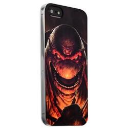 Чехол-накладка UV-print для iPhone SE/ 5S/ 5 силикон (мультфильмы) Черепашки ниндзя тип 002