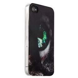 Чехол-накладка UV-print для iPhone 4S/ 4 силикон (арт) Глаз тип 001