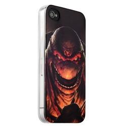 Чехол-накладка UV-print для iPhone 4S/ 4 силикон (мультфильмы) Черепашки ниндзя тип 002