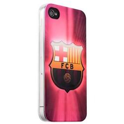 Чехол-накладка UV-print для iPhone 4S/ 4 силикон (спорт) ФК Барселона тип 004