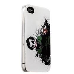 Чехол-накладка UV-print для iPhone 4S/ 4 силикон (арт) тип 006