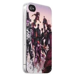 Чехол-накладка UV-print для iPhone 4S/ 4 силикон (кино) тип 004