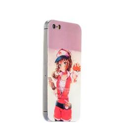 Чехол-накладка UV-print для iPhone SE/ 5S/ 5 силикон (игры) Pokemon GO тип 001