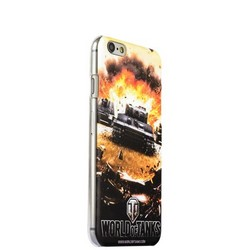 Чехол-накладка UV-print для iPhone 6s/ 6 (4.7) пластик (игры) World of Tanks тип 001