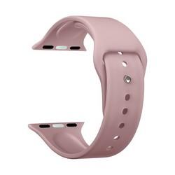Ремешок силиконовый Deppa Band Silicone D-47124 для Apple Watch 40мм/ 38мм Розовый