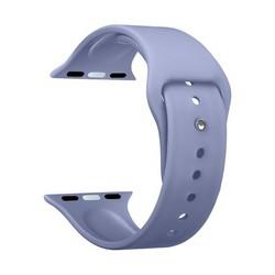 Ремешок силиконовый Deppa Band Silicone D-47135 для Apple Watch 44мм/ 42мм Лавандовый