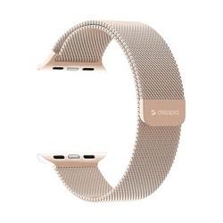 Ремешок из нержавеющей стали Deppa Band Mesh D-47150 для Apple Watch 44мм/ 42мм Золотой