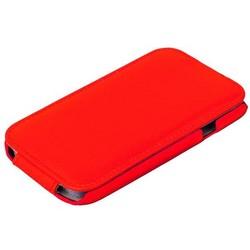 Чехол Exakted для Samsung Galaxy A7 SM-A710F (2016 г.) с откидным верхом Красный в техпаке