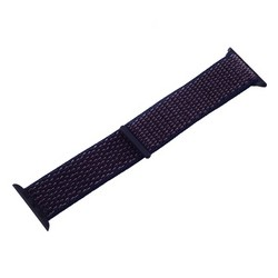 Ремешок COTEetCI W17 Magic Tape Band (WH5225-DL-40) для Apple Watch 40мм/ 38мм Indigo Blue Темно-синий