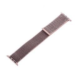 Ремешок COTEetCI W17 Magic Tape Band (WH5226-FS-44) для Apple Watch 44мм/ 42мм Powder Sand Розовый песок