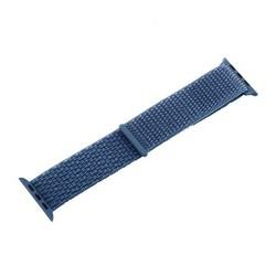 Ремешок COTEetCI W17 Magic Tape Band (WH5225-HL-40) для Apple Watch 40мм/ 38мм Cape Blue Голубой