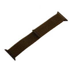 Ремешок COTEetCI W17 Magic Tape Band (WH5226-GLL-44) для Apple Watch 44мм/ 42мм Olive Green Оливковый